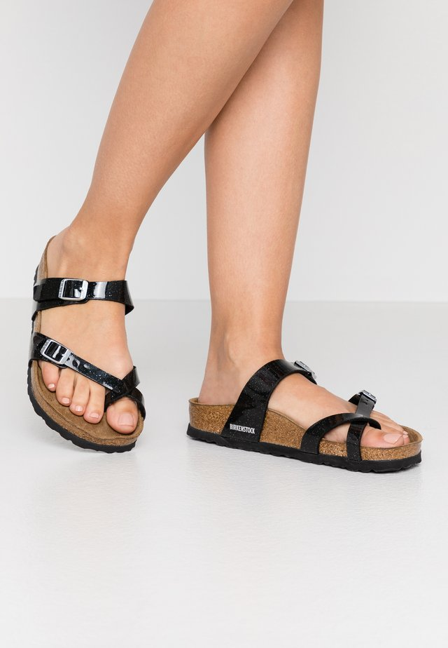 MAYARI - T-bar sandals - magic galaxy black
