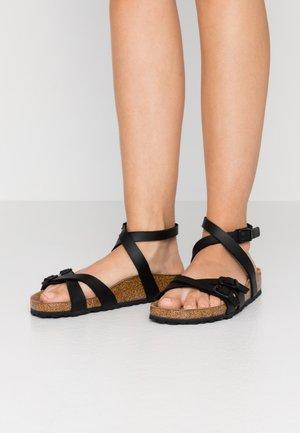 BLANCA - Sandals - black