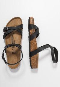 Birkenstock - BLANCA - Sandals - black - 3