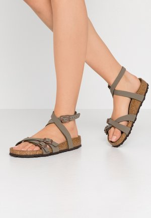 BLANCA - Sandals - stone