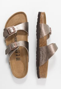 Birkenstock - SYDNEY - Slippers - graceful taupe - 3
