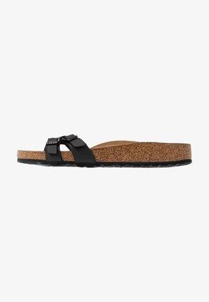 ALMERE - Domácí obuv - black