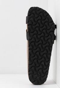 Birkenstock - ALMERE - Slippers - black - 6