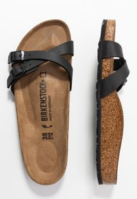 Birkenstock - ALMERE - Slippers - black - 3