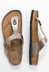 Birkenstock - GIZEH - Flip Flops - graceful taupe - 3