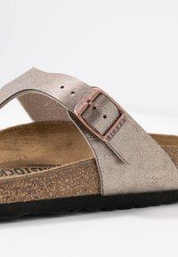 Birkenstock - GIZEH - Flip Flops - graceful taupe - 2