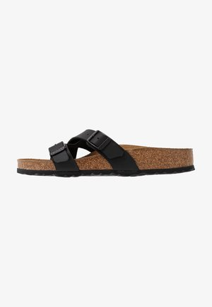 YAO - Slippers - black
