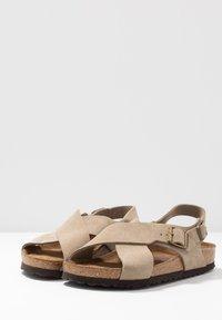 Birkenstock - TULUM - Sandals - taupe - 4