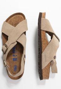 Birkenstock - TULUM - Sandals - taupe - 3