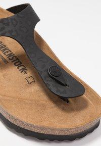 Birkenstock - GIZEH - T-bar sandals - black - 2