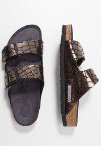 Birkenstock - ARIZONA - Chaussons - gator gleam black - 3