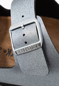 Birkenstock - ARIZONA - Hausschuh - icy metallic anthracite - 2