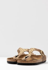 Birkenstock - GIZEH - Slippers - gold - 4
