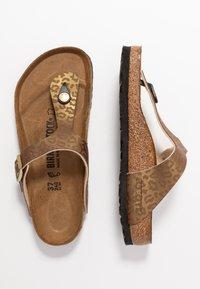 Birkenstock - GIZEH - Slippers - gold - 3