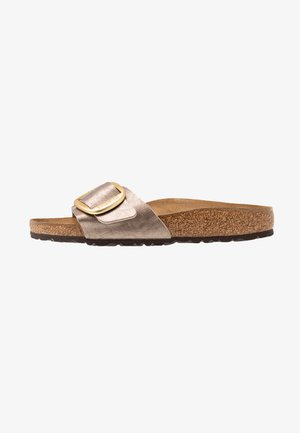 MADRID BIG BUCKLE - Pantuflas - graceful taupe