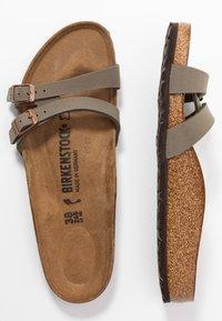 Birkenstock - ALMERE - Domácí obuv - stone - 3