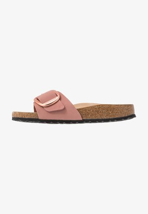 MADRID BIG BUCKLE - Slippers - old rose