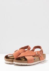 Birkenstock - TULUM - Sandals - earth red - 4
