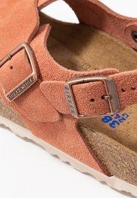 Birkenstock - TULUM - Sandals - earth red - 2
