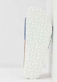Birkenstock - MADRID - Chaussons - icy metallic azure blue - 4