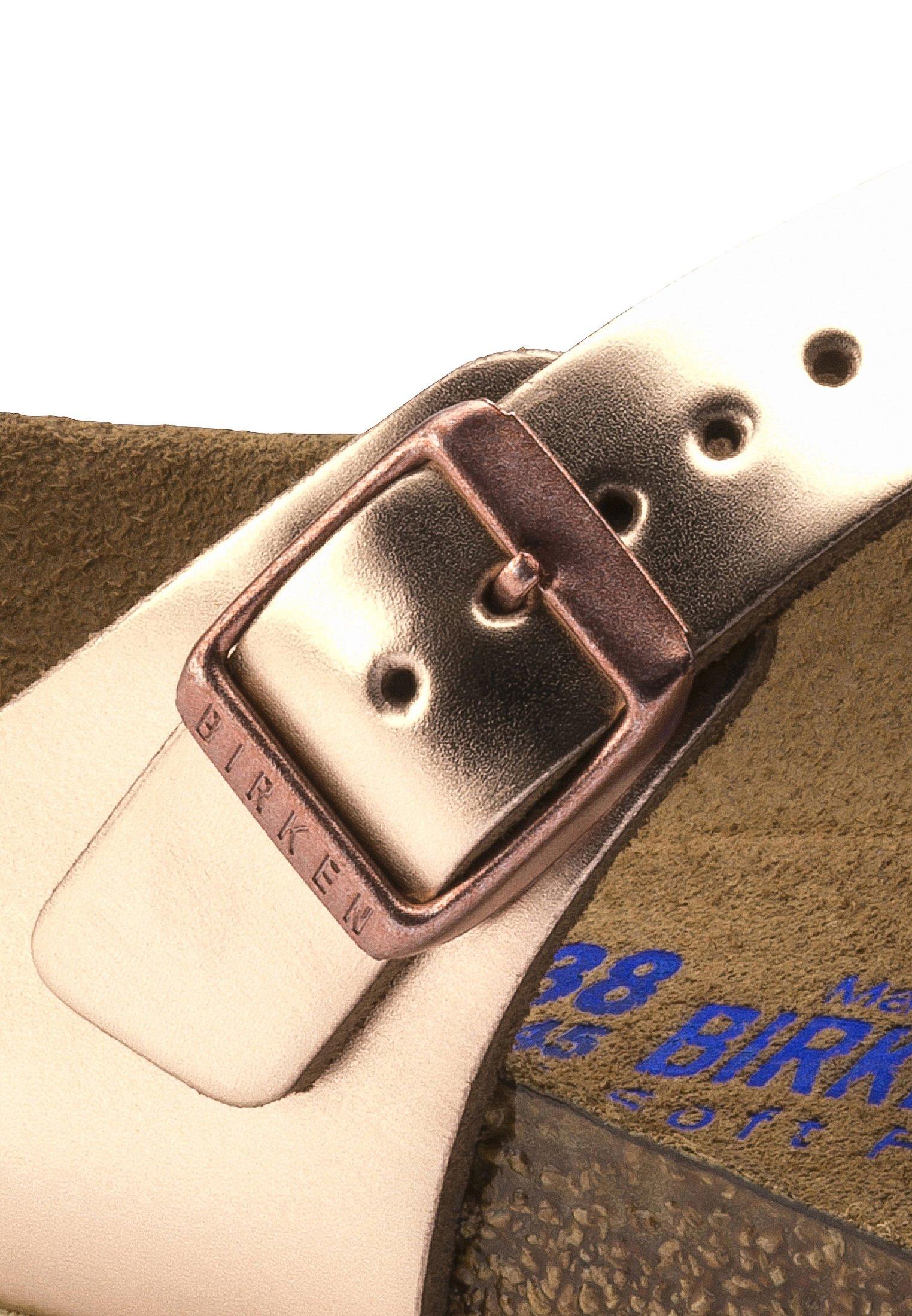 Birkenstock GIZEH - Sandaler m/ tåsplit - metallic copper