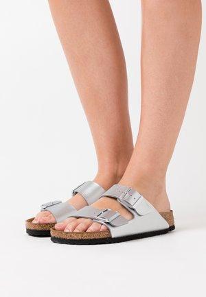 ARIZONA - Slippers - silver