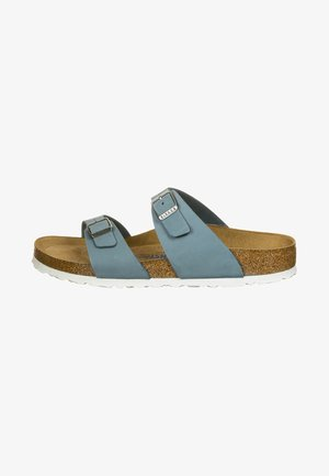 Slippers - dove blue