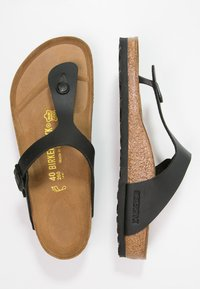 Birkenstock - GIZEH - T-bar sandals - black - 1