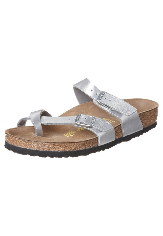 MAYARI - T-bar sandals - bilber