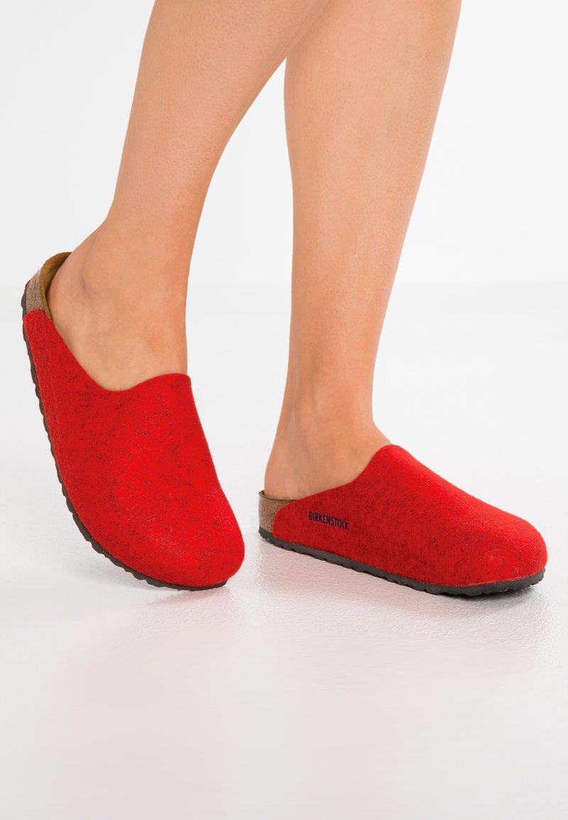 Birkenstock - AMSTERDAM - Slippers - red