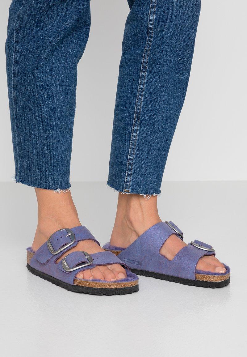 Birkenstock - ARIZONA - Domácí obuv - washed metallic violet