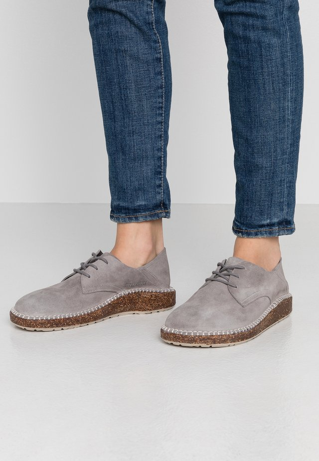 GARY - Casual lace-ups - light grey