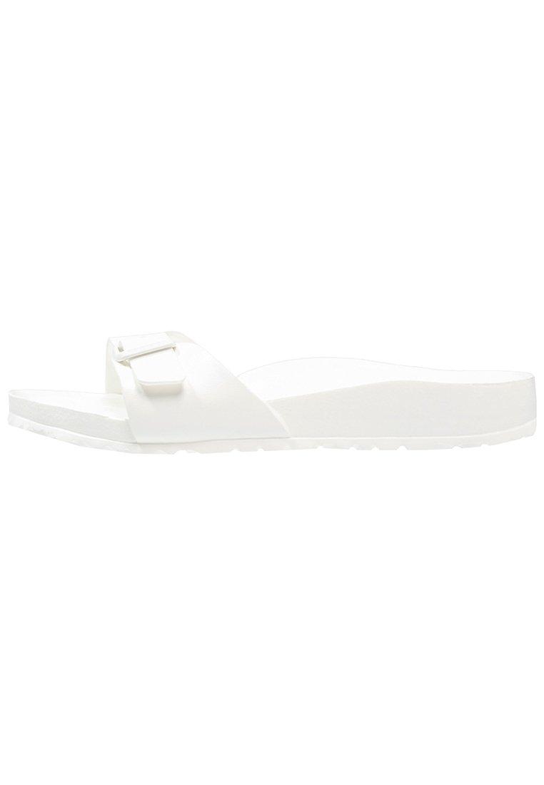 Birkenstock MADRID - Pool slides - white