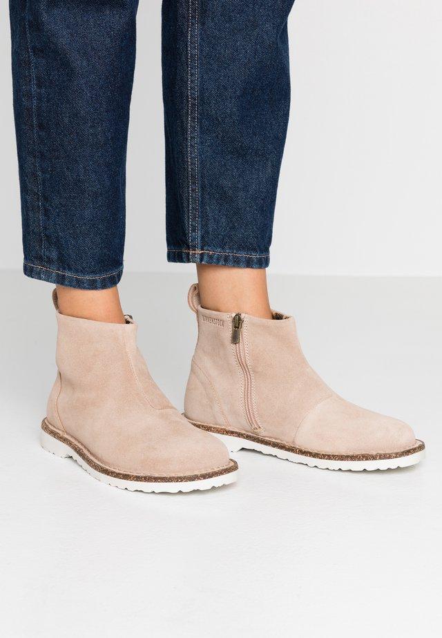 MELROSE - Kotníkové boty - nude