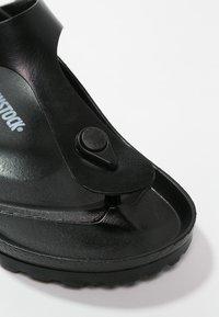 Birkenstock - GIZEH - Pool shoes - black - 5