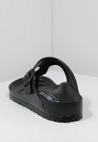 Birkenstock - GIZEH - Pool shoes - black - 3