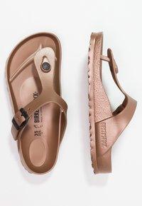 Birkenstock - GIZEH - Pool shoes - metallic copper - 1