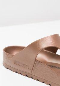 Birkenstock - GIZEH - Pool shoes - metallic copper - 5