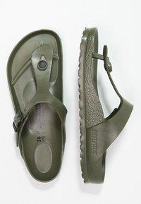 Birkenstock - GIZEH - Pool shoes - khaki - 2