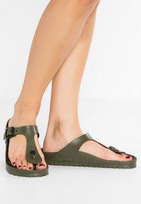 Birkenstock - GIZEH - Pool shoes - khaki - 0