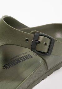 Birkenstock - GIZEH - Pool shoes - khaki - 6
