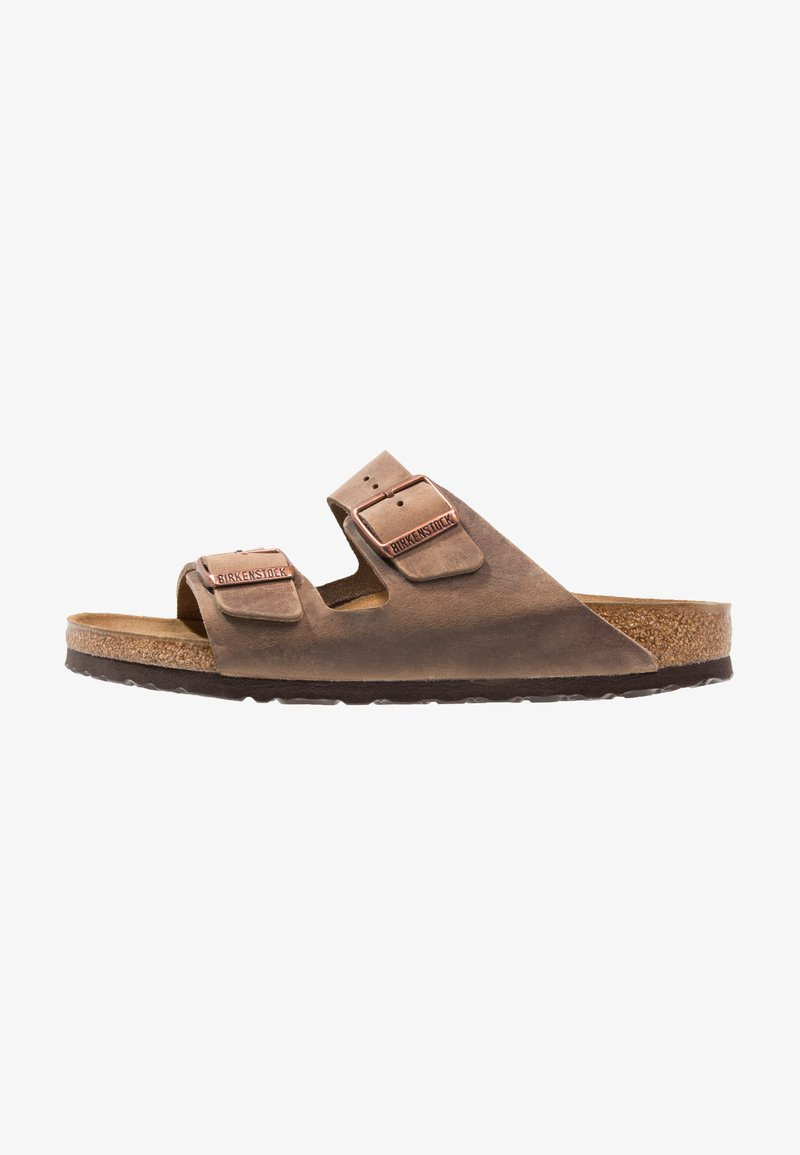 Birkenstock - ARIZONA  NARROW FIT - Sandalias planas - tabacco brown