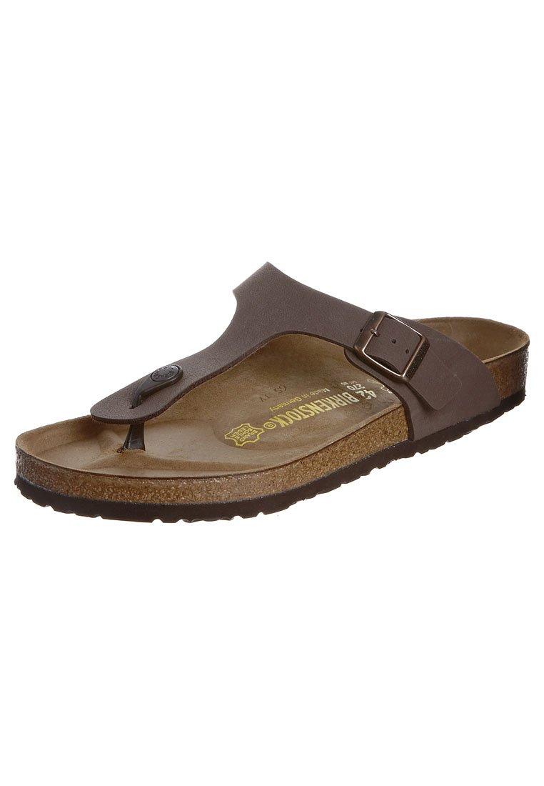 Birkenstock - GIZEH - T-bar sandals - mocca