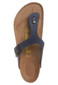 Birkenstock - GIZEH - T-bar sandals - blau - 6