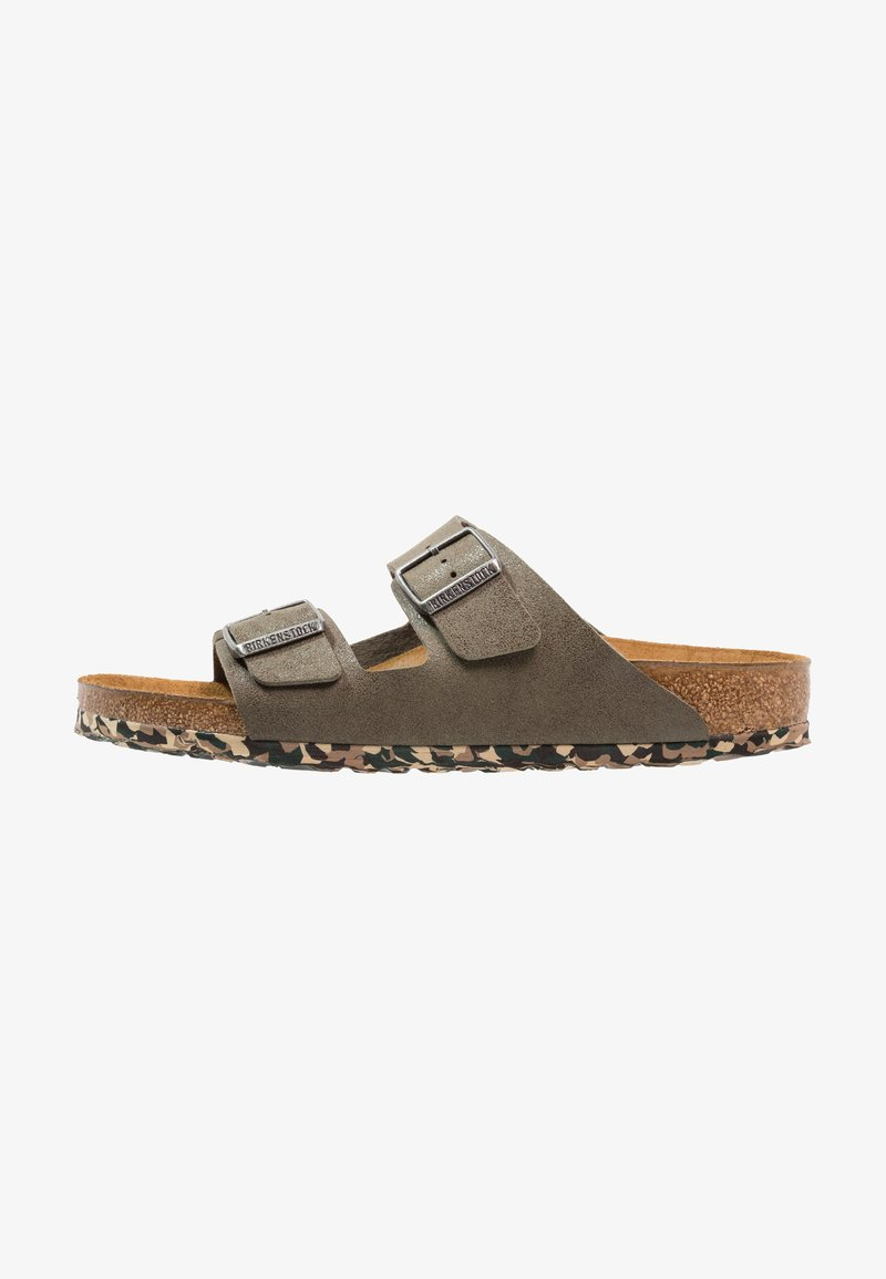 Birkenstock - ARIZONA - Chaussons - sandwashed green