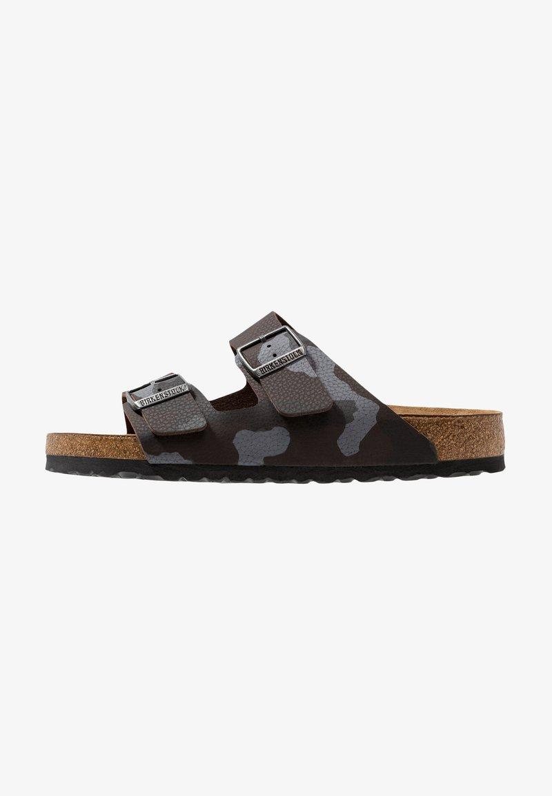 Birkenstock - ARIZONA SOFT FOOTBED - Slippers - brown