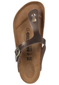 Birkenstock - GIZEH BF  - T-bar sandals - gold - 1