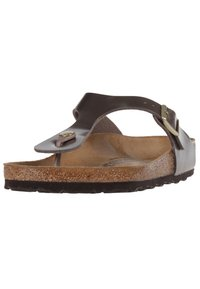 Birkenstock - GIZEH BF  - T-bar sandals - gold - 5