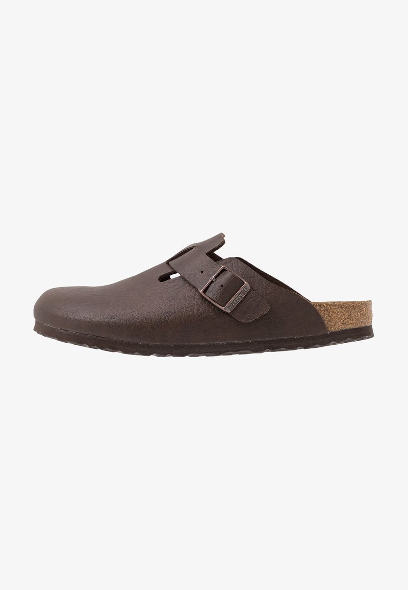 Birkenstock - BOSTON SADDLE  - Tohvelit - saddle espresso