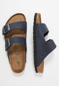 Birkenstock - ARIZONA VEGAN - Chaussons - matt navy - 1
